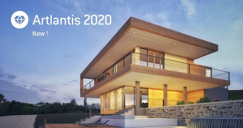 Artlantis 2020 - nejnovější verze 3D vizualizačního systému pro architekty a designéry