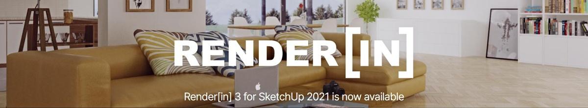 Render[in] 3 pro SketchUp 2021