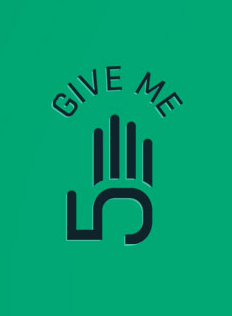 "GIVE ME FIVE! (""dej mi pětku!"")"
