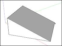 Rotující obdélník ve SketchUpu 2015