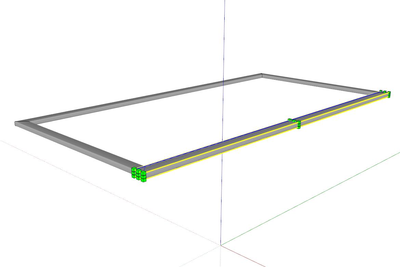 Tzv. odzrcadlit objekt můžeme buď Převrátit podél (Flip Along) nebo Zvětšením (Scale)