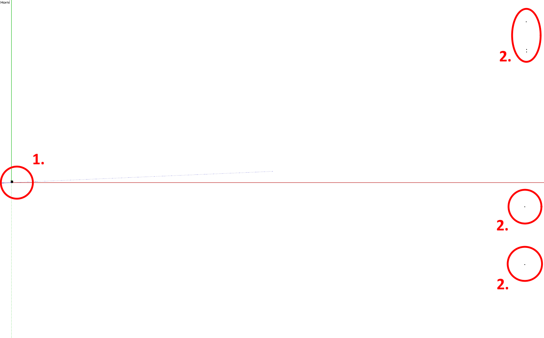 Obrázek 2 - Výsledek kontroly modelu ve SketchUpu